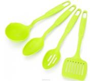 Набор кух. принадлеж. 4 предмета Зеленый