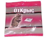 От Крыс 40гр. 4 летальных дозы/100шт.