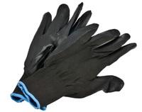 Перчатки нейлон Черный двойной облив/960шт.