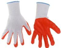 Перчатки нейлоновые с нитрил. покрыт. 12шт