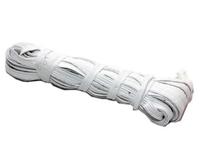 Резинка тканевая 8мм*10м бел./20шт