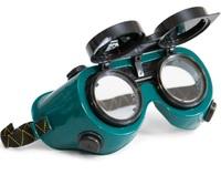 Очки защитные сварщика с откидным стеклом