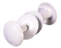 Ручка-кнопка РДК-115-Б (Белая)