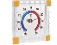 Термометр оконный Биметаллический квадратный