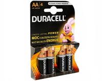 Батарейки Duracell LR06 4 шт ,Блистер