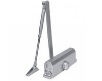 Доводчик дверной SPARK LUX до 150 кг, серебро DC-150