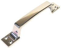 Ручка скоба РС-100-4 хром (ХР) плоская гладкая