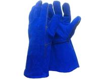 Краги спилковые синие X-PERT(11-02)/10 шт.