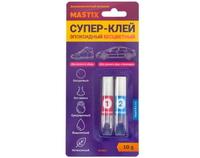 Супер-клей Эпоксидный бесцветный 10 гр.MASTIX МС 0804