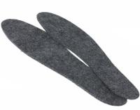 Стельки войлочные серые р-р от 36 по 46