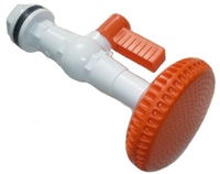 Душ распылитель Бело-оранжевый с краником