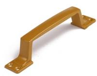 Ручка скоба РС-100-4 матовое золото (МЗ) плоская гладкая