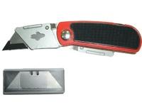 Нож обойный складной с зап.лезвием.