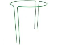 """Кустодержатель """"круг Большой"""" сталь с ПВХ 0,9*0,8 м D-10мм (1 комплект-2 дуги)"""
