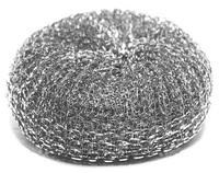 Губка для посуды железная в сетке 10шт.