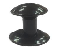 Ручка-кнопка меб. (метал) Черная