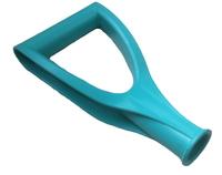 Ручка пласт. V-образная для черенка d=32мм ЦВЕТНАЯ