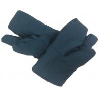 Рукавицы Утепленные трехпалые (из крашеной ткани)