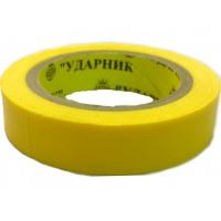 Изолента ПВХ желтая 0,13*19*15м NR