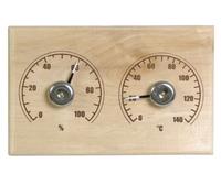 """Станция банная открытая термометр+гигрометр """"Прямоугольная"""" СБО-2ТГ"""