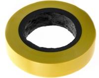 Изолента ПВХ 15м желтая (192)