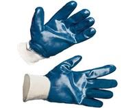 Перчатки нитрил. манжета, полный облив