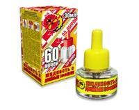 Жидкость от комаров 60 ночей 2-ой эффект желтая