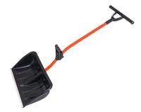 Лопата-скрепер «Ратник» 680*380*140 СYCLE с Т-образной пласт. ручкой и метал. чер.
