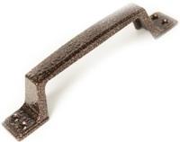 Ручка скоба РС-100-4 антик медь (АМ) плоская гладкая