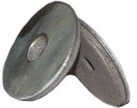 Шайба для поликарбоната металл