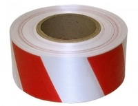 Лента сигнальная 50*200 (бел/красная) Альянс