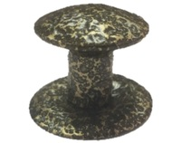 Ручка-кнопка меб. (метал) антик бронза