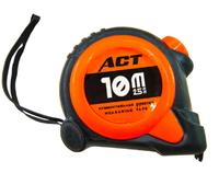 Рулетка АСТ 10м*25 мм прорез.корпус, 1 фиксатора магн.зацеп