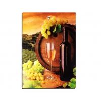 Доска разделочная ДР-14 декор виноград
