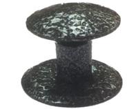 Ручка-кнопка меб. (метал) антик серебро