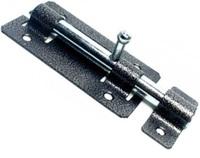 Задвижка дверная ЗД-01 (серебро) Кунгур
